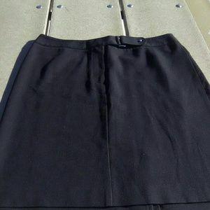 Rafaella black mini skirt